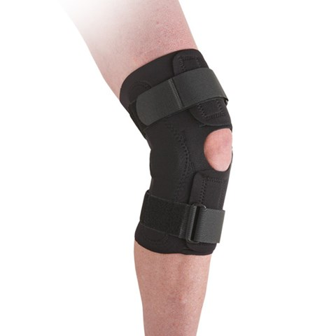 Neoprene Wraparound Hinged Knee Support
