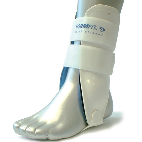 how to put on ossur ankle brace