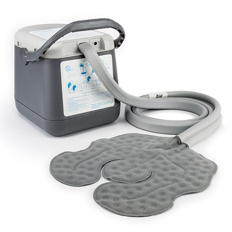 Cold rush compact for Motorized cold therapy unit